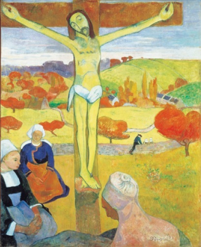 Paul Gauguin  《The Yellow Christ》 1889年 Collection of Albright-Knox Art Gallery, Buffalo, NY.